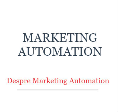curs marketing automation